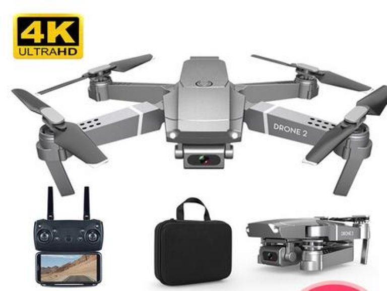 2020 NEUE E68 Drohne HD weitwinkel 4K WIFI 1080P FPV Drohnen video live Aufnahme Quadcopter Höhe Zu halten Drone Kamera Spielzeug