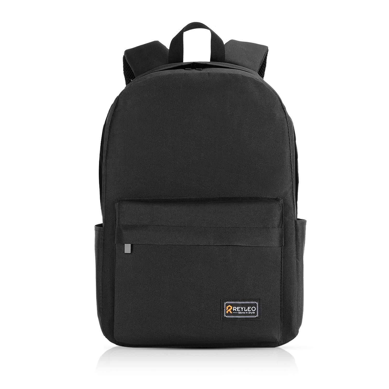 REYLEO Schulrucksack Herren und Damen Daypack 15,6 Zoll,Multifunktionsrucksack