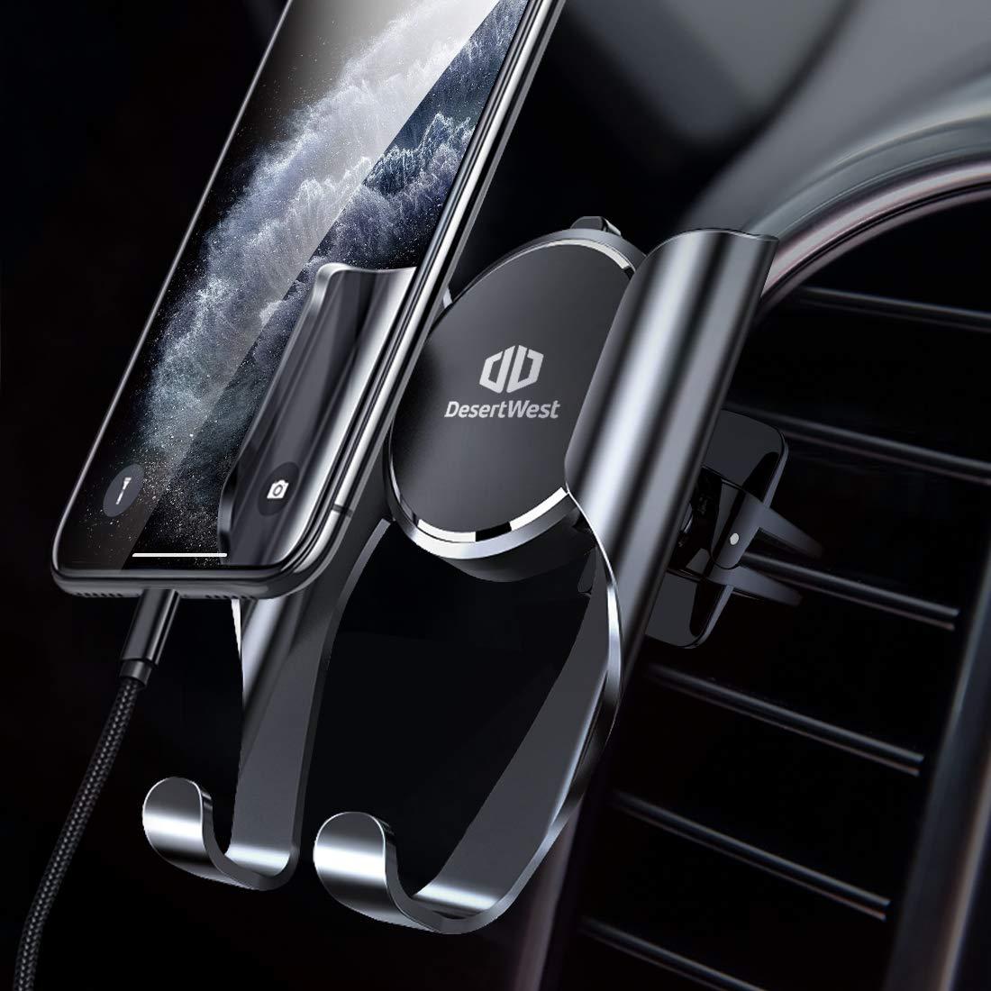 Handyhalter fürs Auto Handyhalterung Auto Smartphone Halterung Kfz Lüftung Halterung