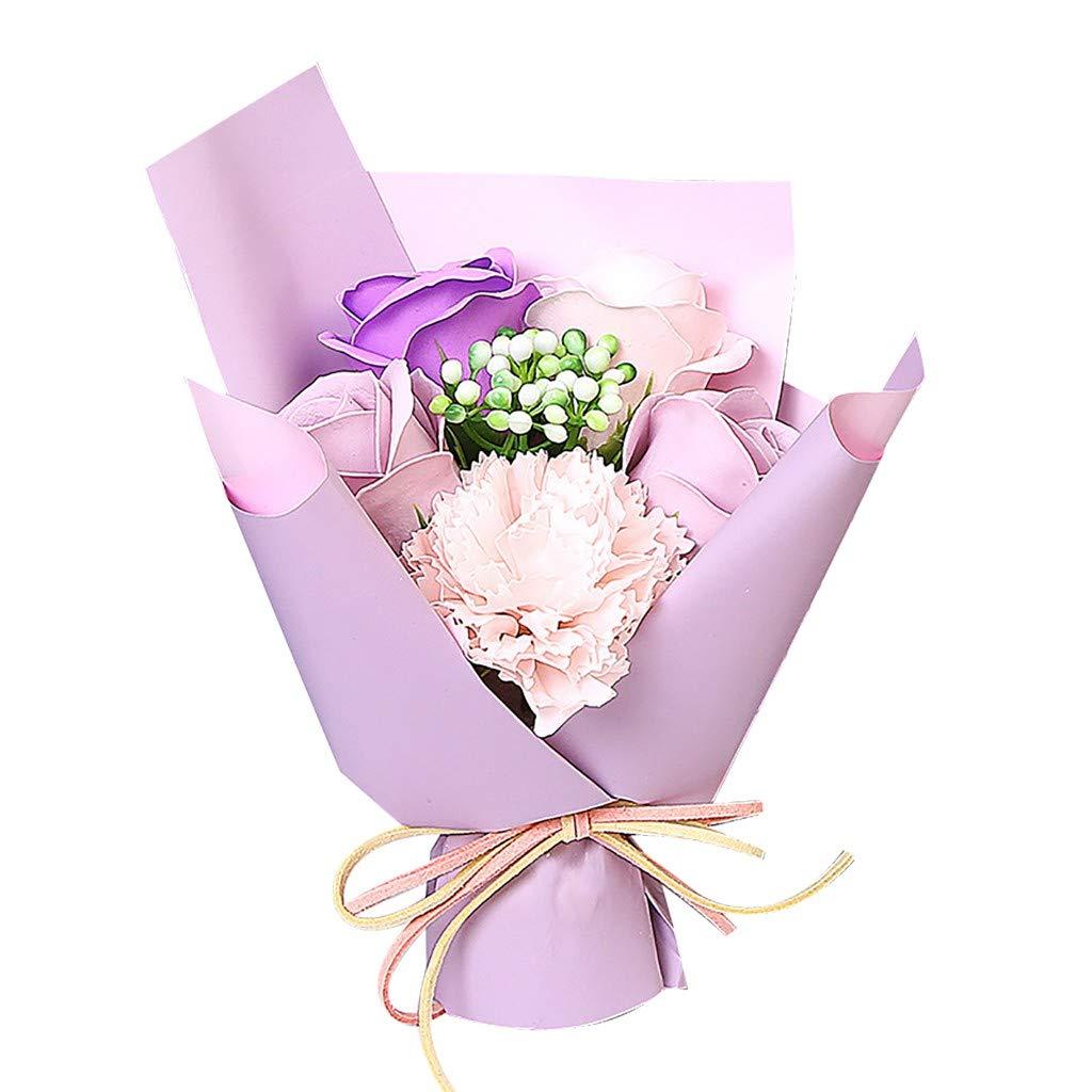 80% off Maleya Valentine's Day DIY Soap Flower Gift Rose Box Bouquet