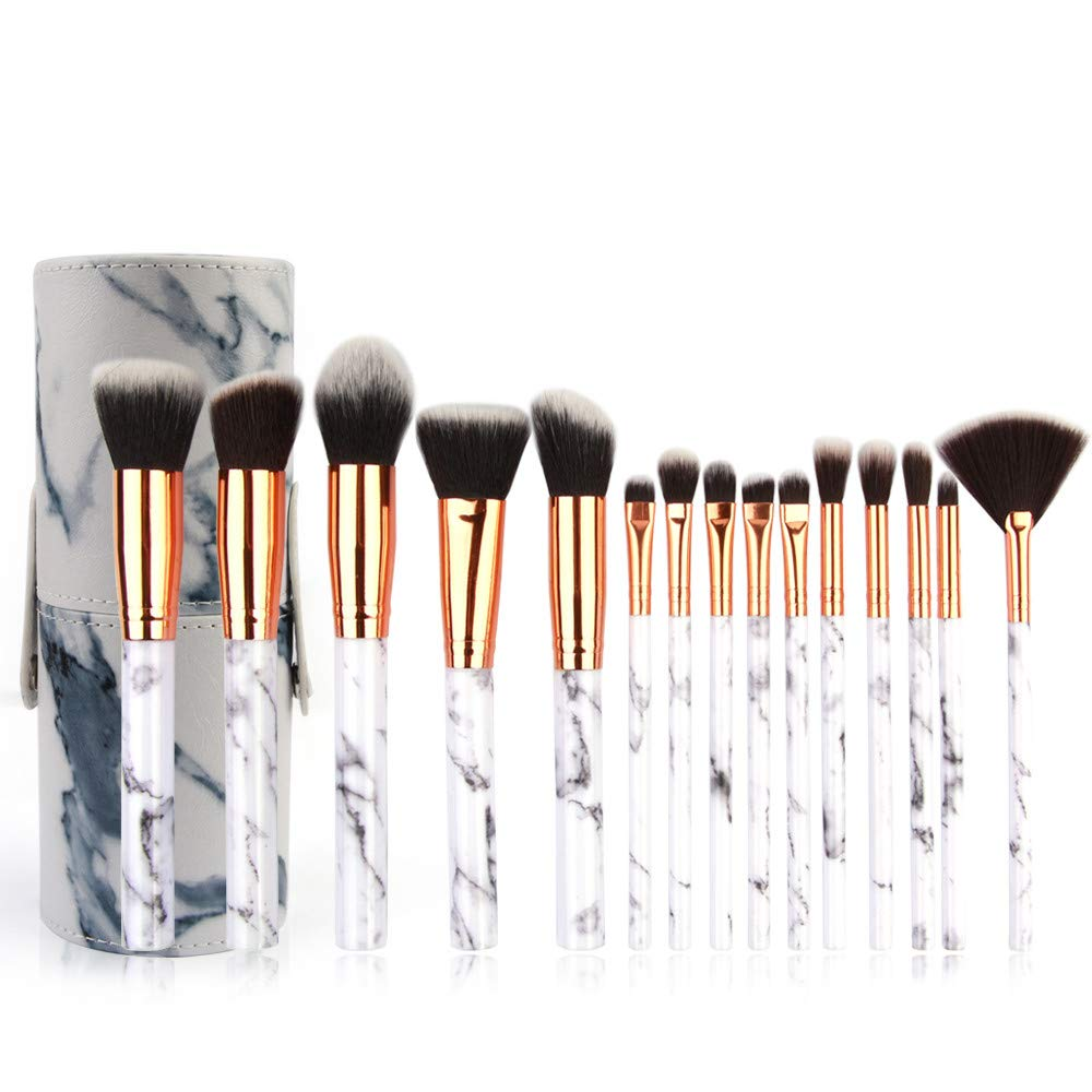 Makeup Pinsel,Professionelles Schminkpinsel Set 10/15 pcs Foundation