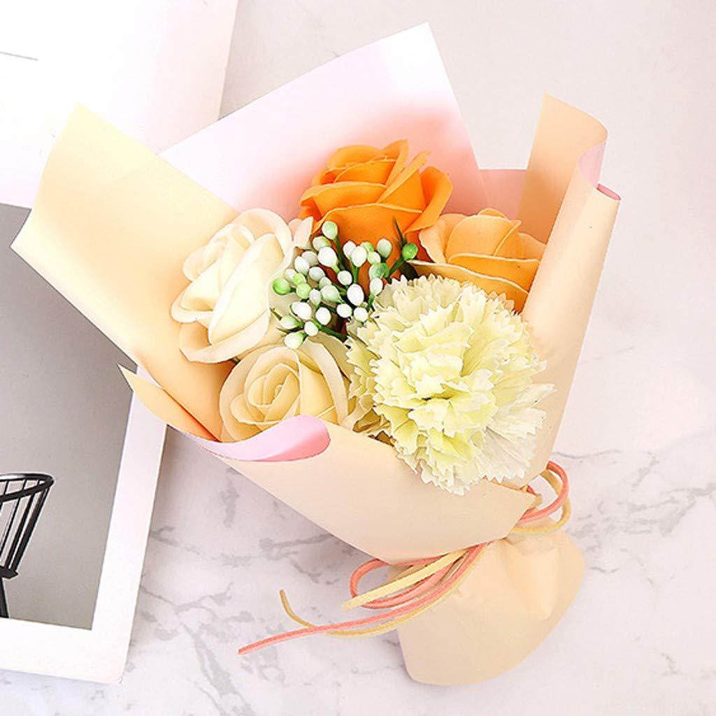 Maleya Valentine's Day DIY Soap Flower Gift Rose Box Bouquet versch. Farben