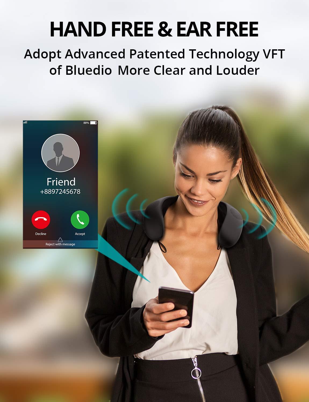 Bluedio Bluetooth Wireless Neckband Lautsprecher Tragbarer