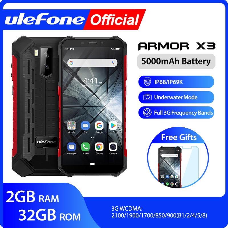 Ulefone Rüstung X3 ip68 Robuste Wasserdichte Smartphone