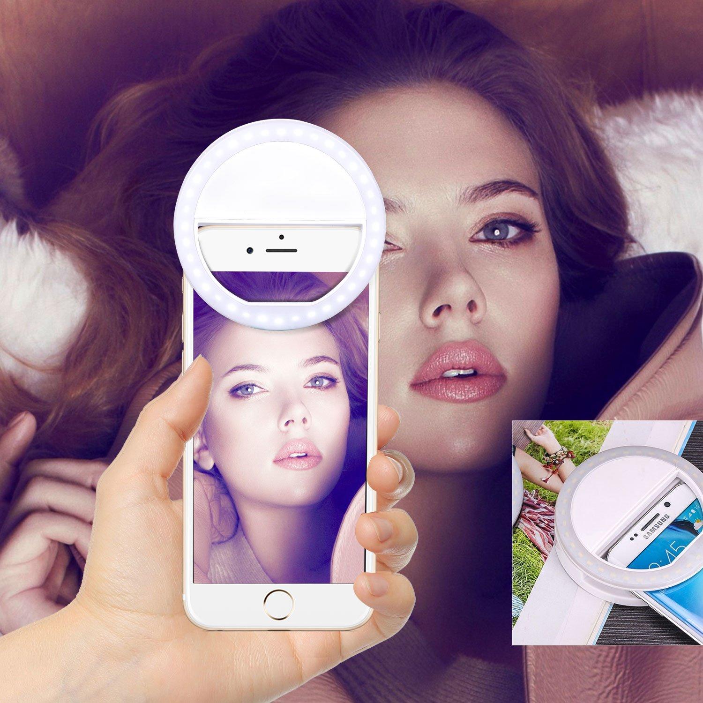 Leeworks Ringlicht Ringleuchte Selfie Licht Für Handy Beleuchtung Kamera Led Ring Light