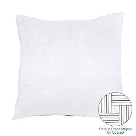 Bedecor Kopfkissen Atmungsaktiv Bequem Allergiker geeignet Weiß 80×80 cm Original Oeko-TEX