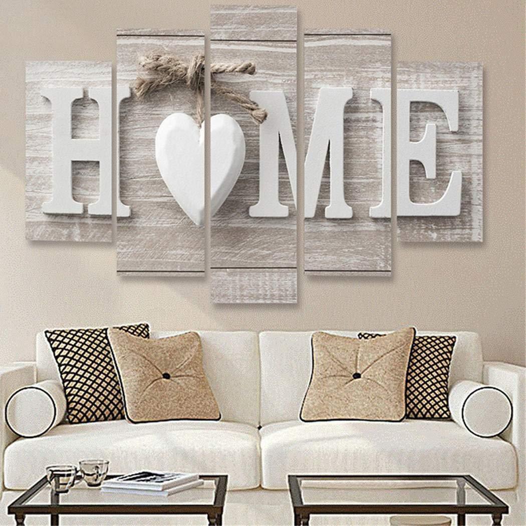 80% off Home Wooden Home Letter Prints Foto Gemälde Wandkunst für Hauptdekorationen Gemälde
