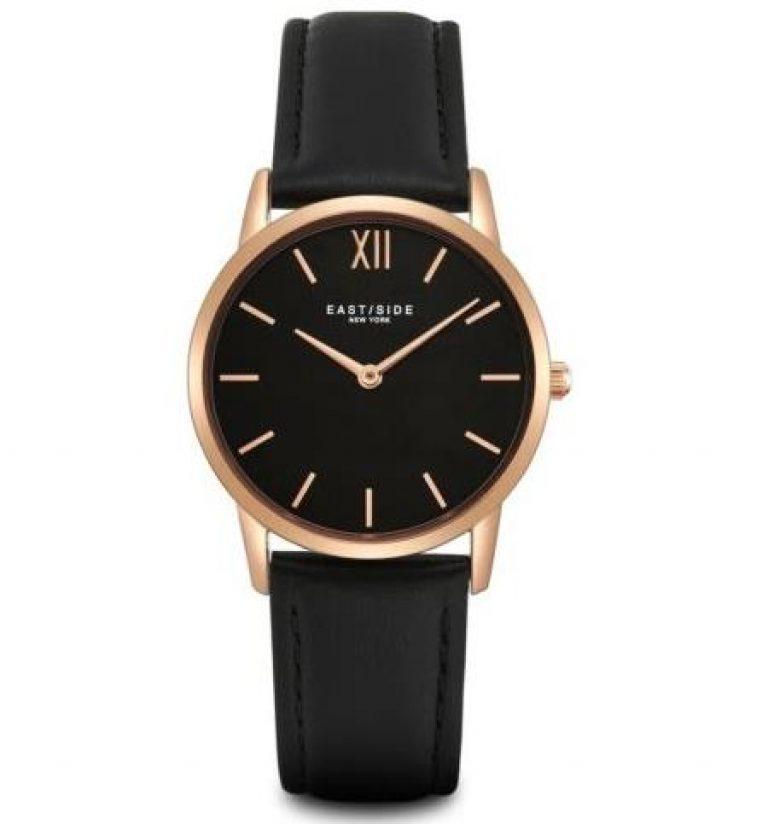 Eastside Armband-Uhr Damen Upper Union roségold Echtleder Damen Uhren Damenuhr