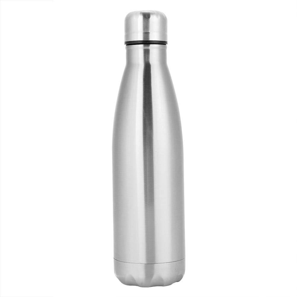 SOULONG Isolierte Wasserflasche, doppelwandig, vakuumisoliert, Edelstahl, Sport Wasserflasche hält warm kalt