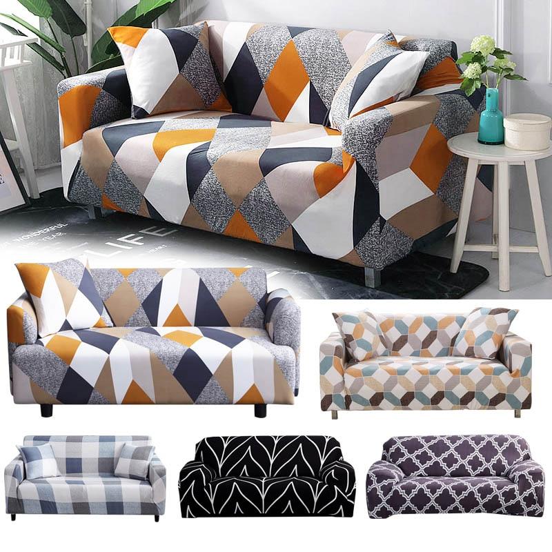 Stretch Hussen Schnitts Elastische Stretch Sofa Abdeckung