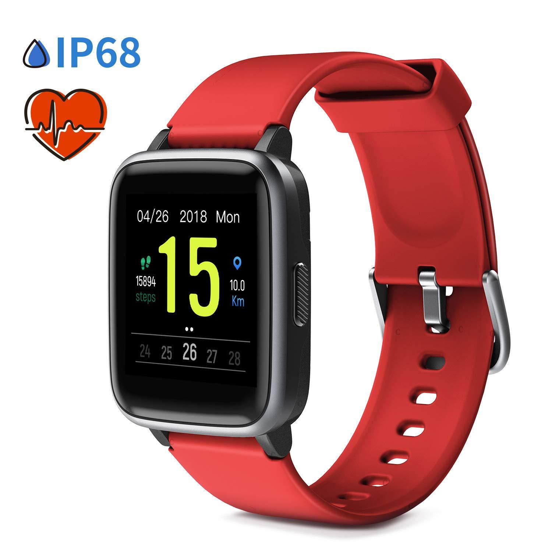 Glymnis Smartwatch Smart Uhr Sport Uhr Fitness Armband