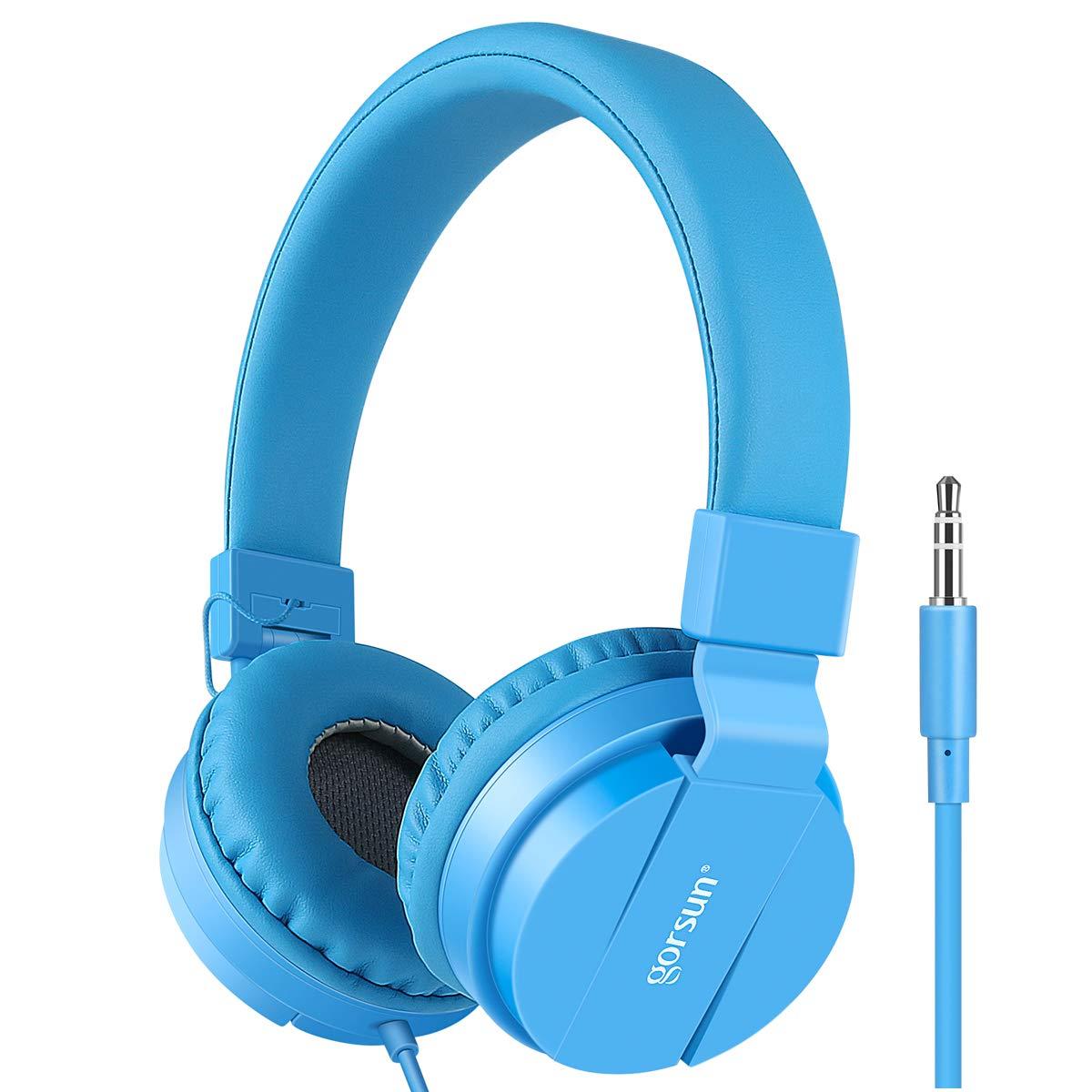Gorsun® Premium Kinderkopfhörer, Faltbare Kopfhörer für Kinder