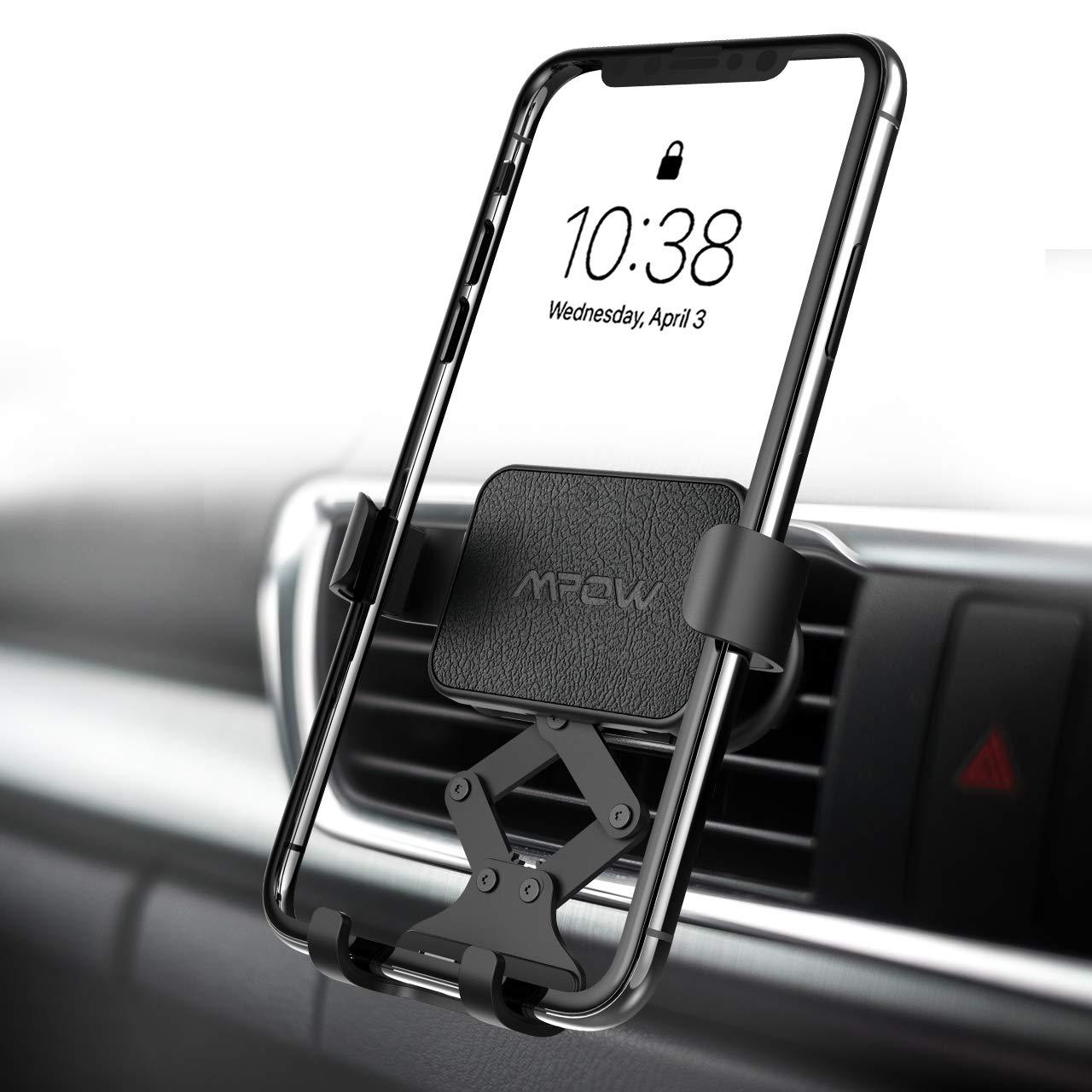 Mpow Schwerkraft Handyhalter fürs Auto Lüftung Handyhalterung Auto