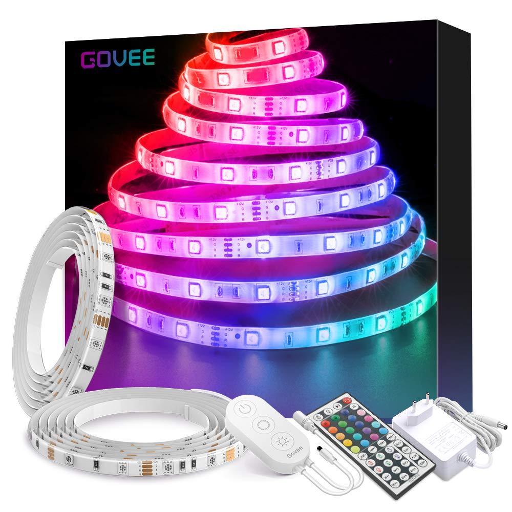 LED Strip Beleuchtung, Govee 10M LED Streifen Wasserdicht Farbwechsel Lichtband