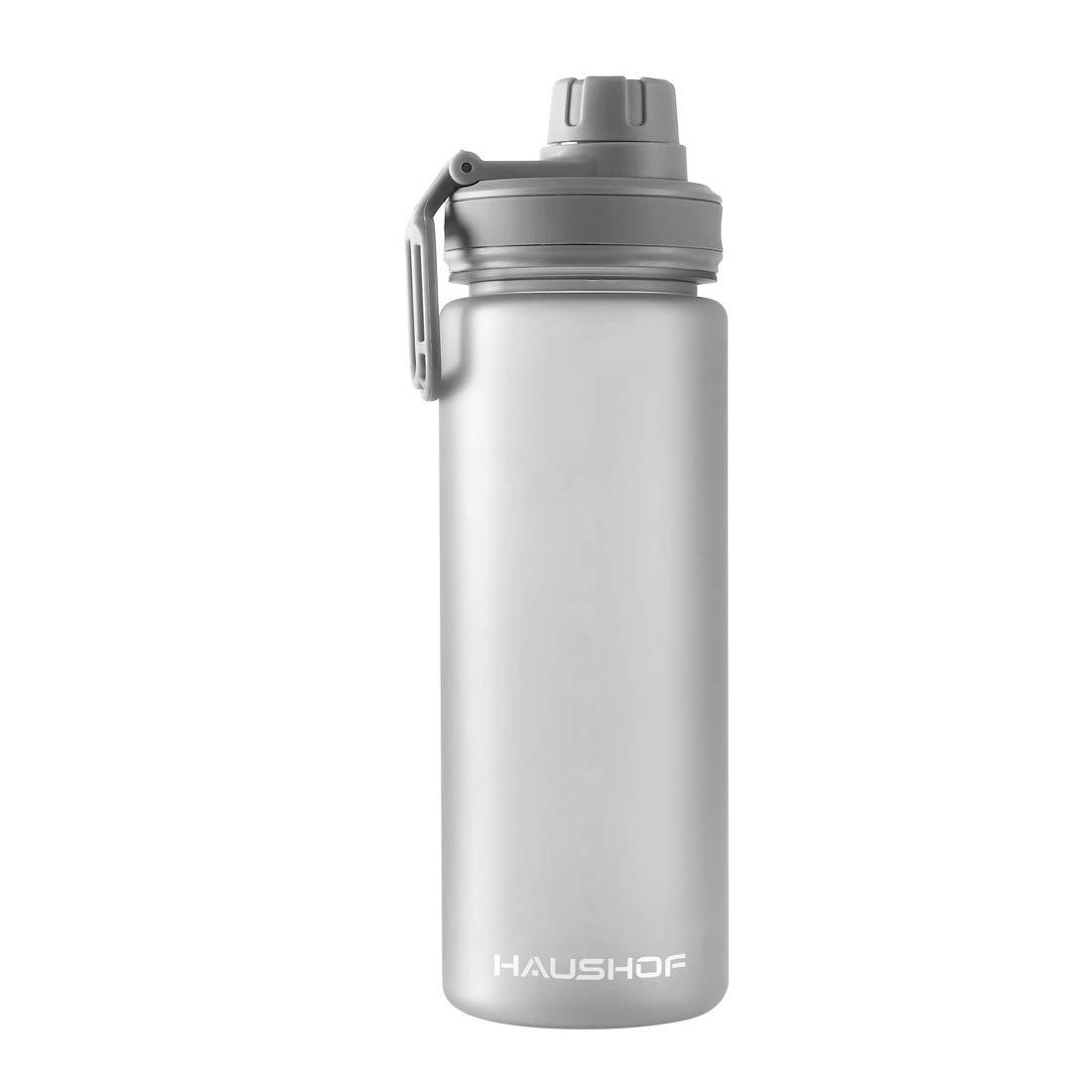 HAUSHOF Trinkflasche Wasserflasche Auslaufsicher Sportflasche BPA-Frei ECO 710 ml