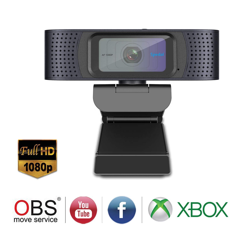 Spedal 1080P Autofokus Streaming Webcam