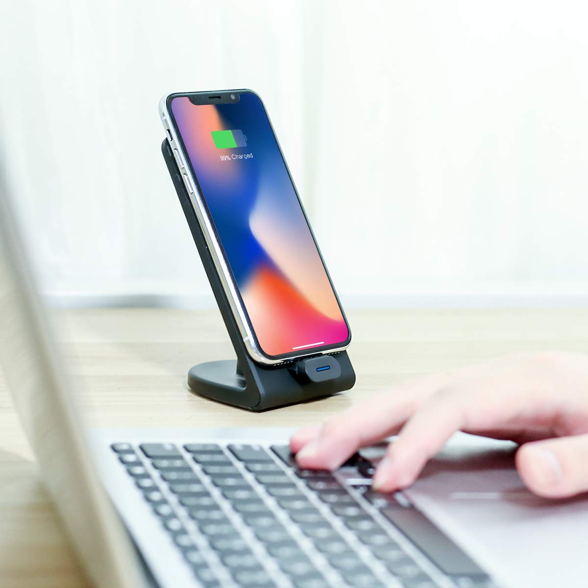 XLTOK 10W Fast Wireless Charger Schnelles Induktions Ladegerät