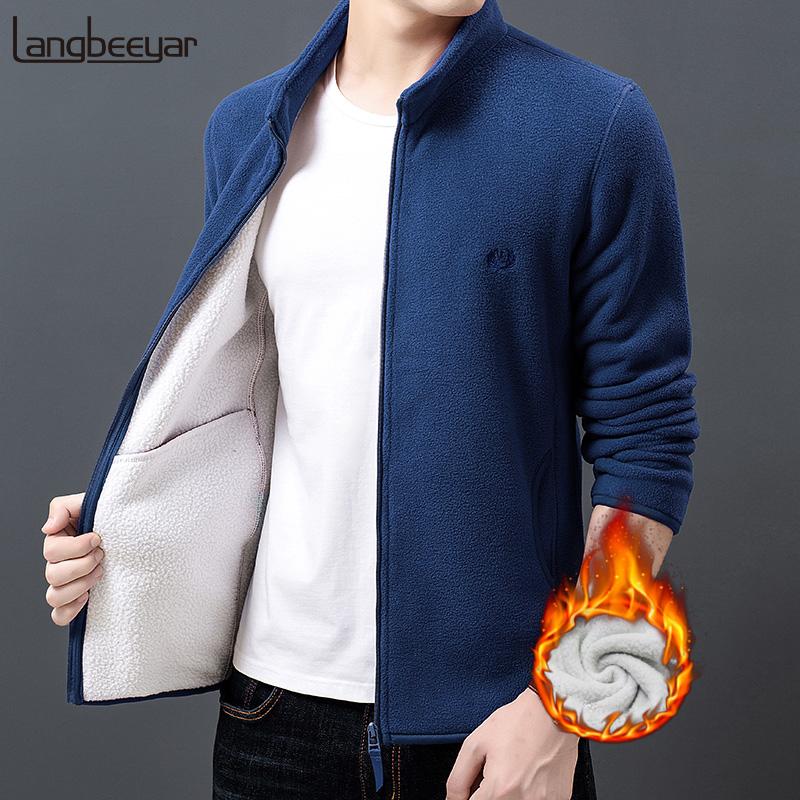 2019 neue Mode Dicke Samt Wind Breaker Fleece Jacken