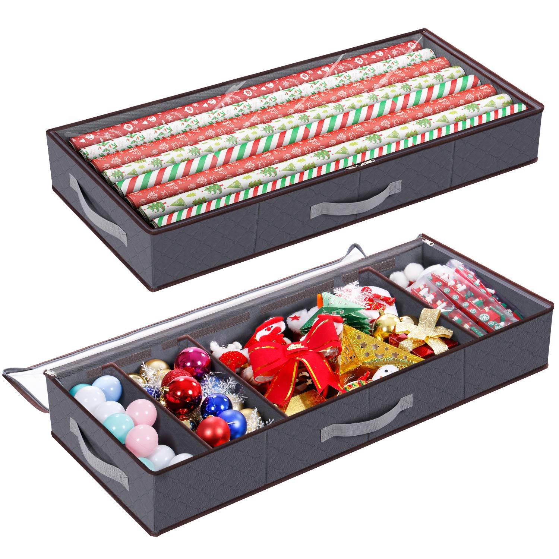 Lifewit Weihnachten Geschenkverpackung Aufbewahrungsbox