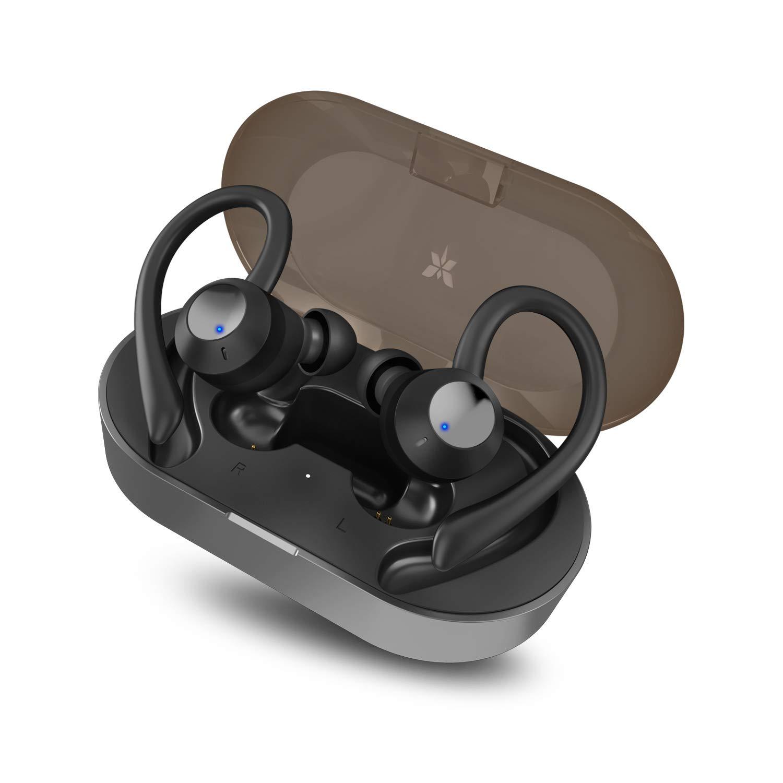 AXLOIE Bluetooth Kopfhörer Sport in Ear Ohrhörer Bluetooth 5.0 IPX7 Wasserdicht Sportkopfhörer