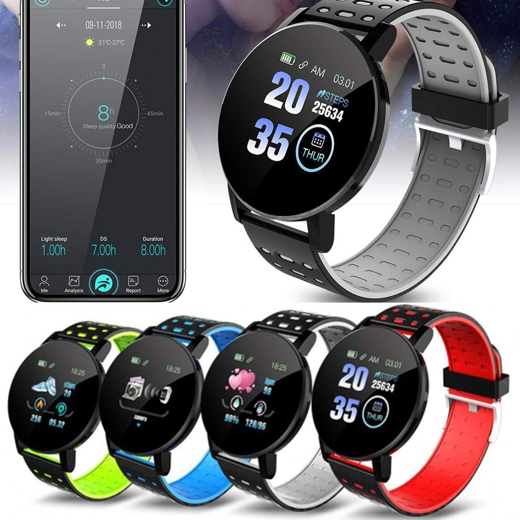 80% off Touchscreen Smart Watch Sport IP67 Wasserdichter Herzfrequenz-Schlafmonitor Smartwatches