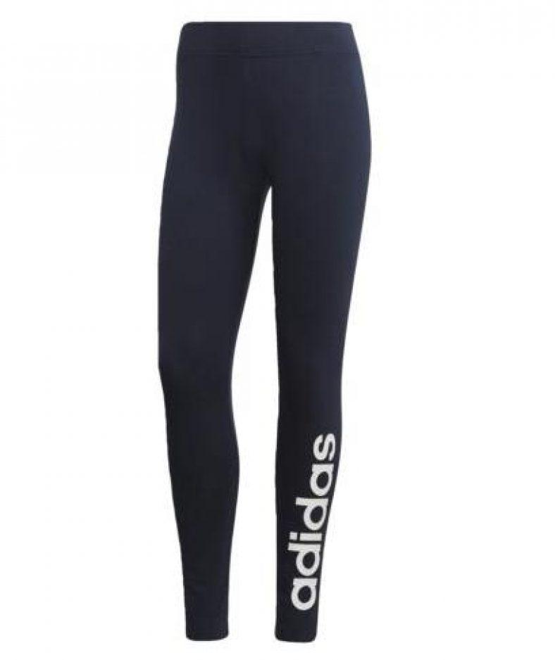 adidas Athletics Essentials Linear Tight Damen Leggings Blau Freizeit-Legging