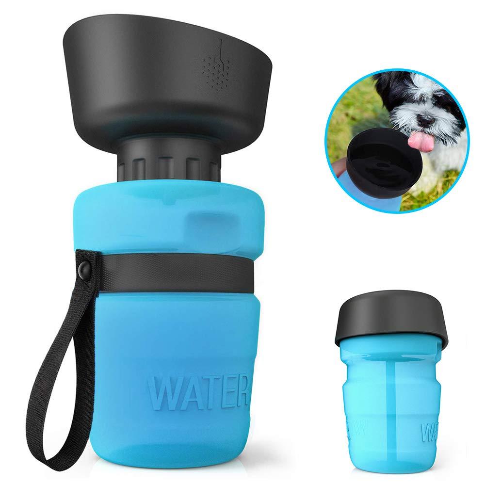 Zellar Tragbare Hundewasserflasche Faltbare Haustierflasche