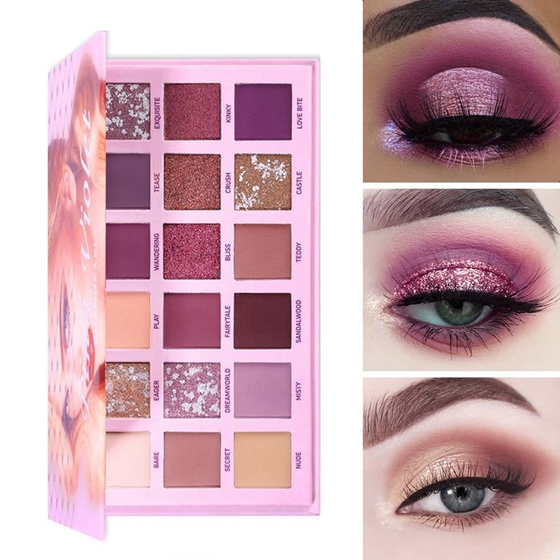 Veränderbar Nude Lidschatten Schönheit Palette Make-Up Kit