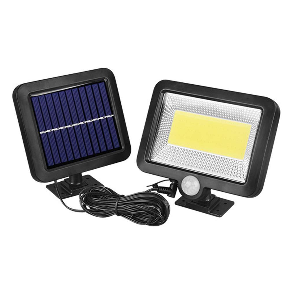 Docooler Solarleuchte für Außen,100COB solarenergie wand nacht lampe motion lichtsensor