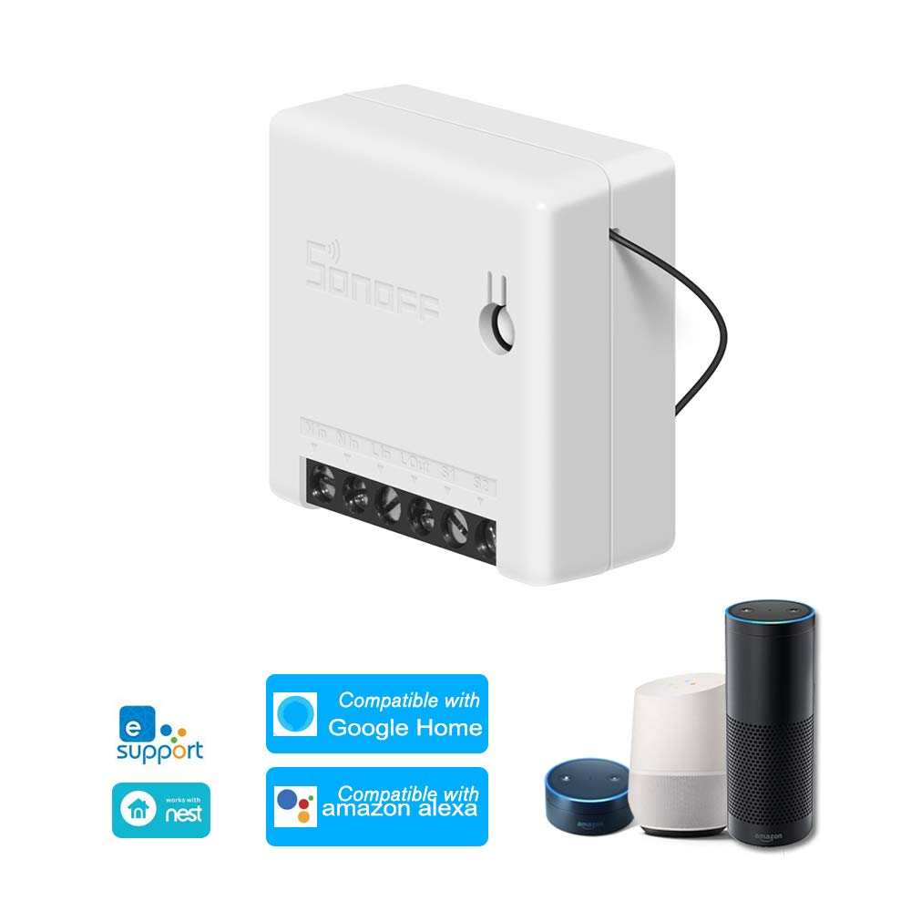 Docooler SONOFF Mini DIY Zwei-Wege-Smart-Switch 10A AC
