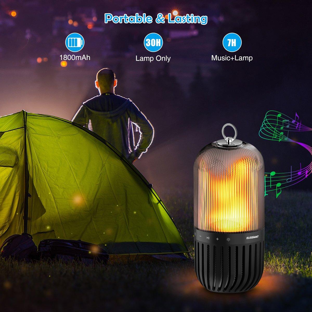 ELEGIANT tragbarer Wireles LED Bluetooth Lautsprecher