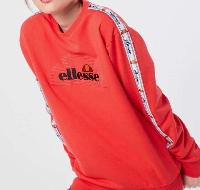 Ellesse Damen Sweatshirt 'Bodrum' in pink für 34,75€ inkl. Versand (statt 48€)