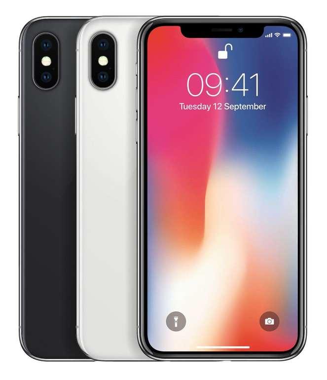 Apple iPhone X mit 256GB Speicher für 483€ inkl. Versand (B-Ware, Wie Neu!)