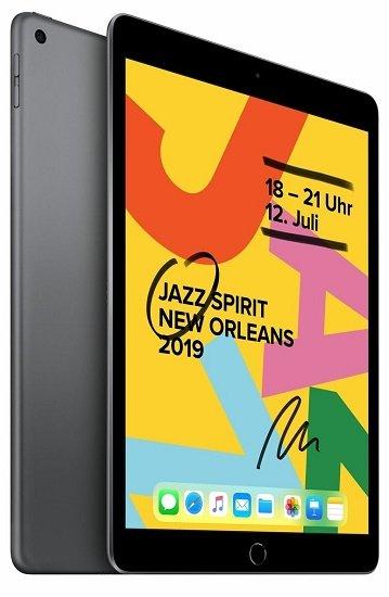 Apple iPad 10,2 (2019) mit WiFi + 128GB Speicher für 405,90€ (statt 439€)