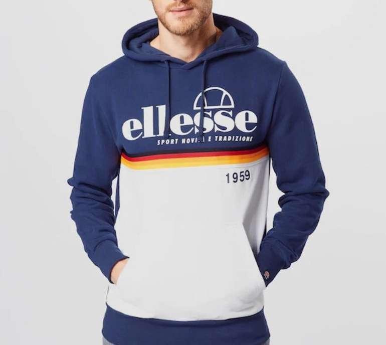 Ellesse Rubianello Herren Sweatshirt bzw. Hoodie in navy für 35,93€ inkl. Versand (statt 47€)