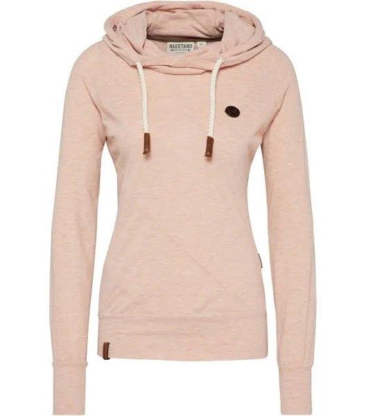 Naketano Sweatshirt 'Mandy' in puder für 15,71€ inkl. Versand (statt 38€)