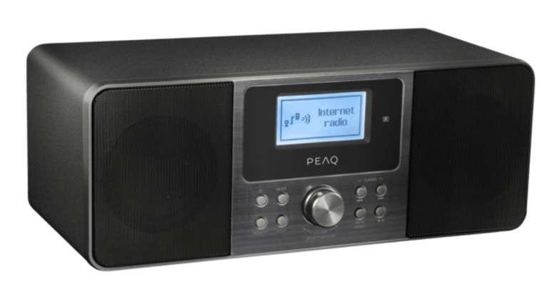 Peaq PDR 260 B Internetradio (FM, DAB, DAB+) für 89€ inkl. Versand (statt 135€)