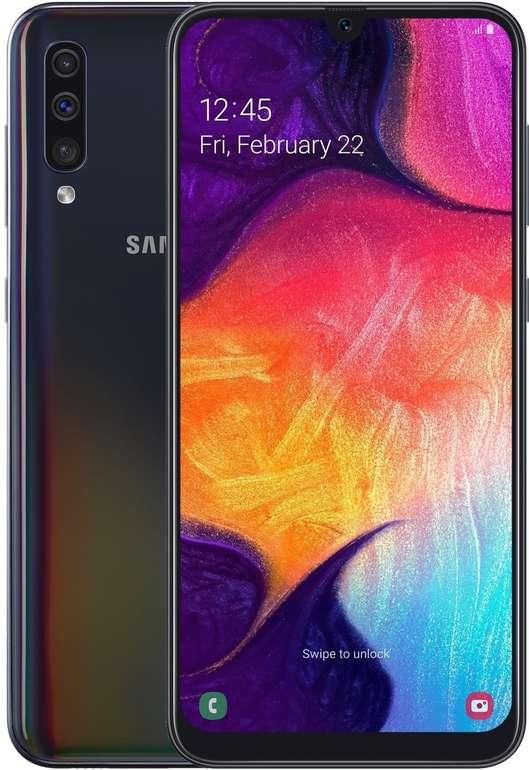Samsung Galaxy A50 – 6,4″ Dual-SIM Smartphone mit 128GB Speicher für 229€ inkl. Versand