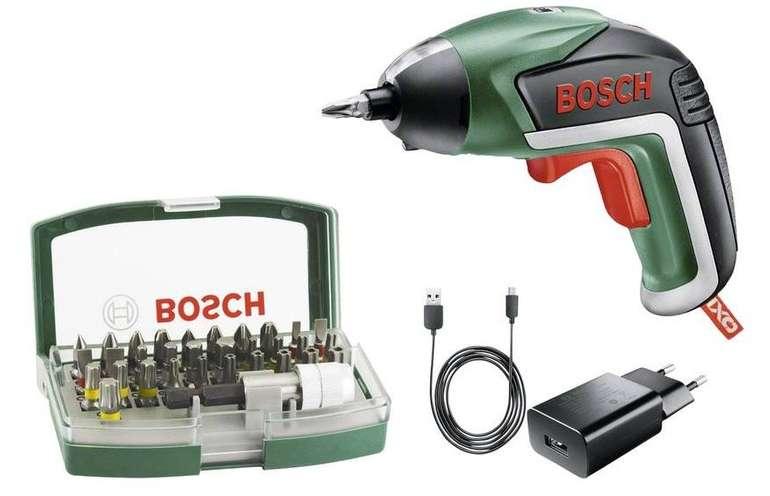 Bosch IXO V Akku-Schrauber, 3.6V, 1.5Ah inkl. Akku + 32tlg. Bitset für 33€ inkl. Versand