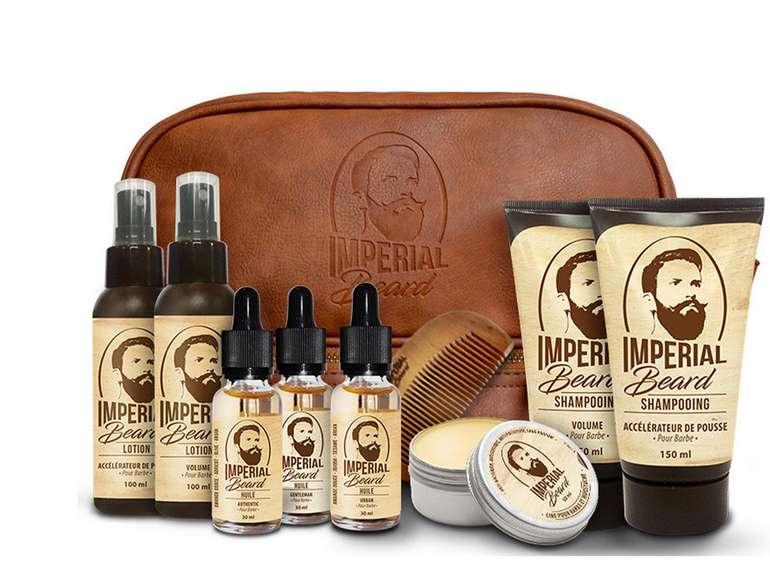 10-teiliges Imperial Beard Bartpflege-Set für 55,90€ (statt 75€)