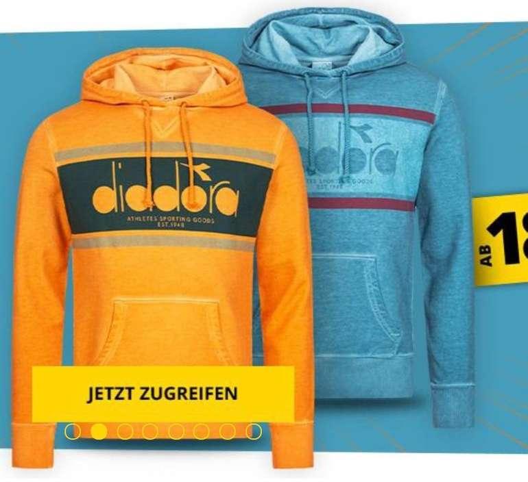 Diadora Full Zip Core Herren Hoodie bzw. Kapuzen Sweatshirt schon ab 18,99€ zzgl. Versand