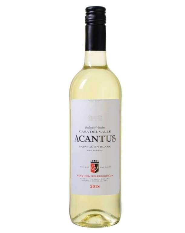12 Flaschen Bodegas y Viñedos Casa del Valle – Acantus Sauvignon Blanc – VdT de Castilla für 57,88€