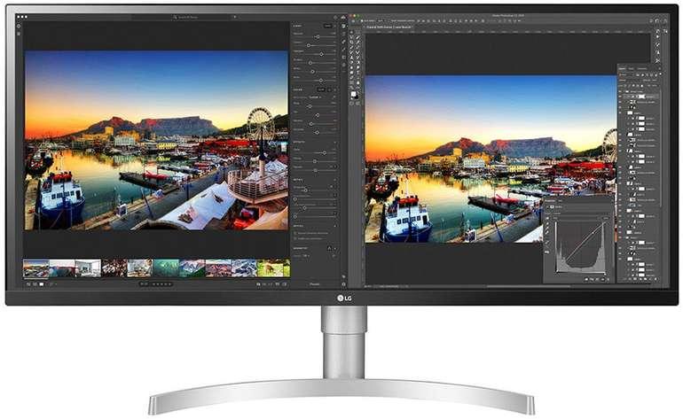 34″ UWQHD Profi-Monitor LG 34WL850-W für 601,62€ inkl. Versand