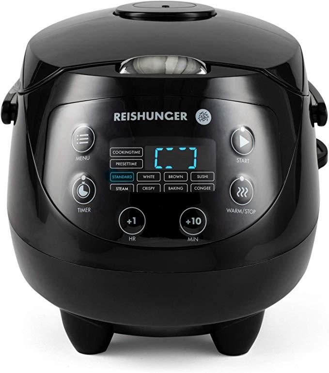 Reishunger Digitaler Mini Reiskocher 0,6L 5 Farben