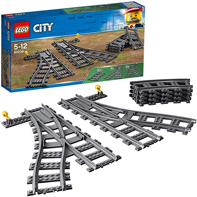 LEGO City Weichen – 60238 [Amazon Prime]