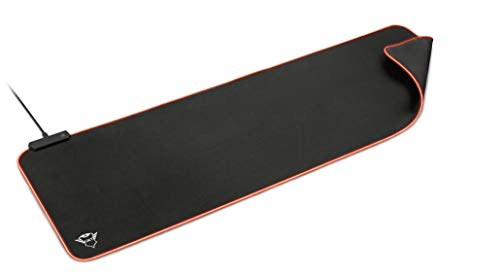 Trust Gaming GXT 764 Glide-Flex XXL RGB Mauspad (Größe: 930x300x3 mm, RGB LED Beleuchtung) schwarz