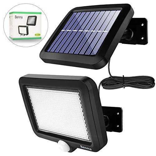 Solarlampen für Außen, 56 LED