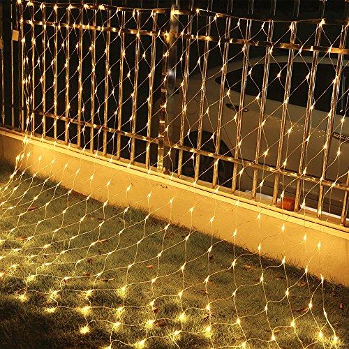 VINGO Bunt LED Lichterkette Außen 10m Lichterkette